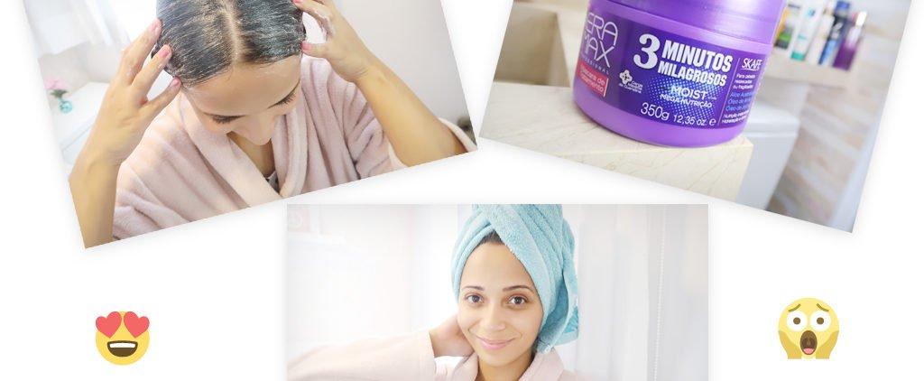 Aprenda em 6 passos como hidratar o cabelo em casa.